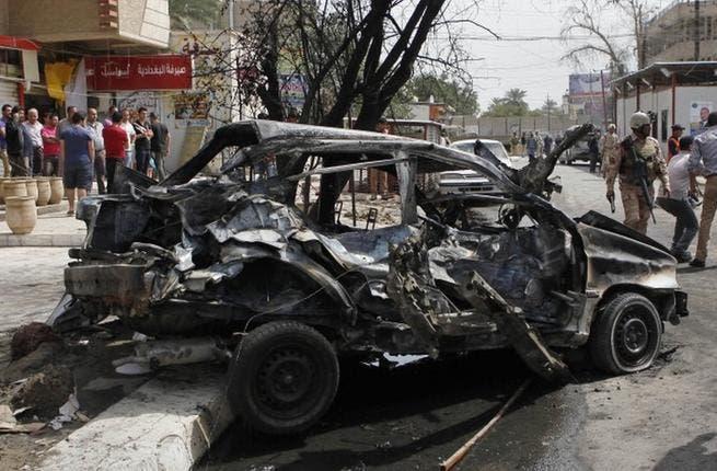 Five car bomb explosions shake Baghdad area. [almanar.com]