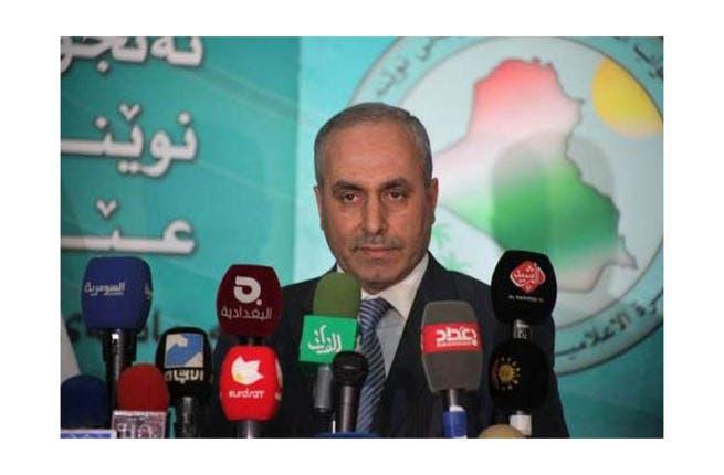Iraq's Suleiman al Gamil