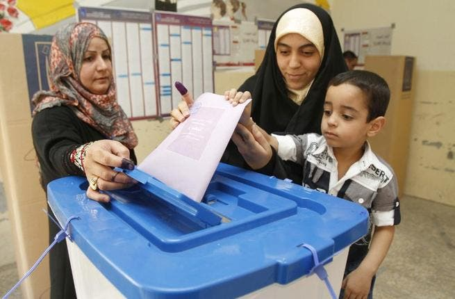 Iraqis vote in provincial elections, the first ballots held in the country since American troops withdrew in late 2011 (AFP)