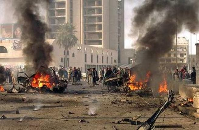 More than 40 were killed in Baghdad Monday, many of whom were on their way to the Shiite holy city of Karbala. [aim]