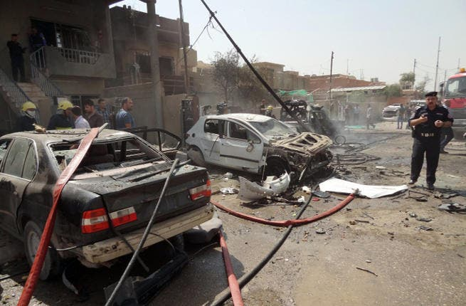 Iraq is experiencing its highest levels of violence since 2008 (Image credit: AFP)