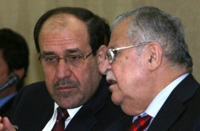 Talabani and Maliki