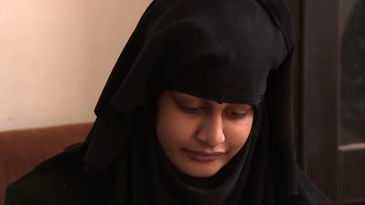 صحيفة بريطانية: عروس داعش نادمة على ما فعلت   البوابة