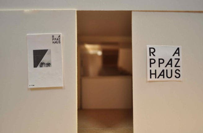 Rappaz Museum in Basel, named after graphic designer and painter Rolf Rappaz. [sarahroxes]