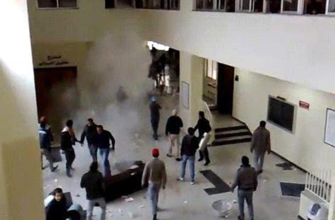 Violent scuffles break out at the Mutah University in Jordan, April 2 (Jordan Times)