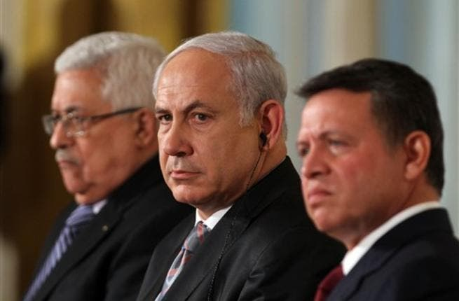 Abbas, Netanyahu and the King