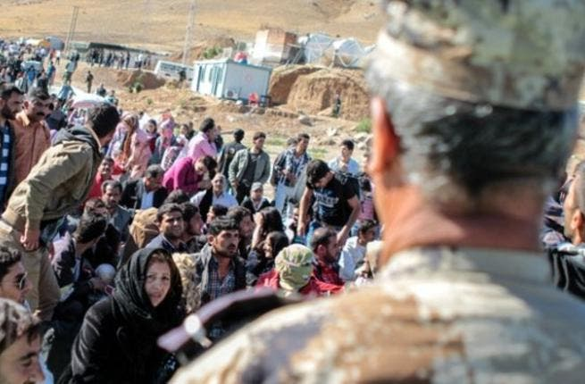 Activists and residents claim that 50 Syrian refugees trapped along the Jordanian-Syrian border by regime bombing and shelling starved to death earlier this month. [eaworldview[