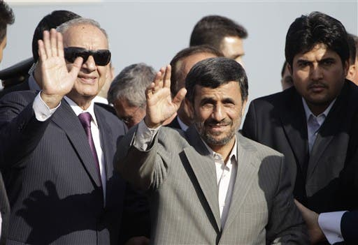 Berri and Iranian President