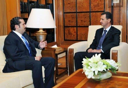 Assad and Hariri