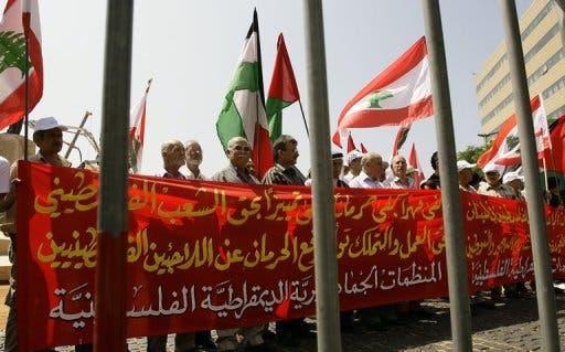 Palestinian demo