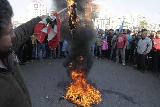 Riots in Lebanon