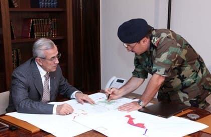 Lebanon's President Michel Suleiman