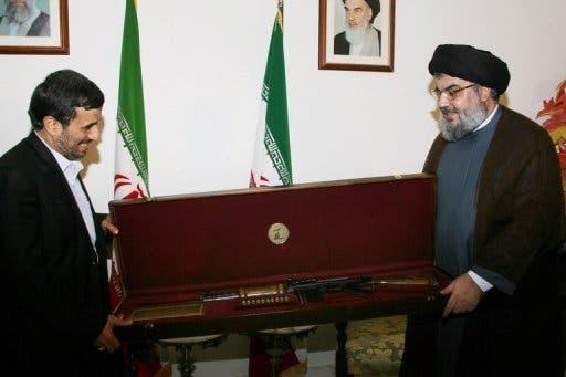 Nasrallah and the Iranian leader