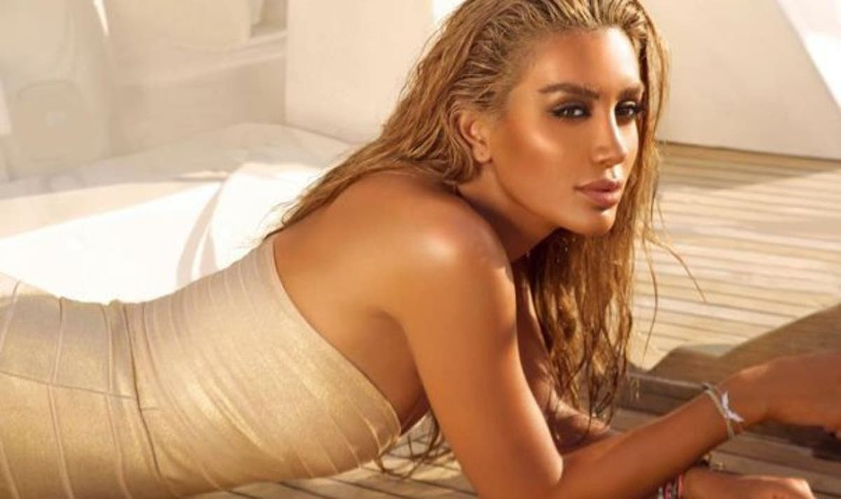 Maya Diab branded a 'sharmoota' (slut) for posting bikini ...