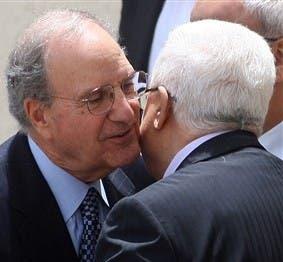 Abbas meets US envoy