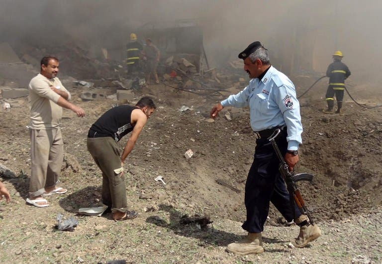 Iraq's security situation has been deteriorating in recent months. This bombing in Kirkuk in the North of the country killed 2 people on March 29.