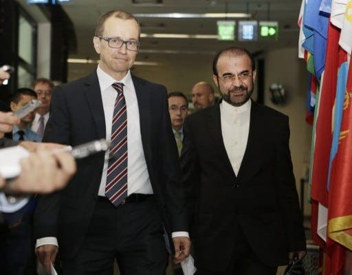 IAEA's Tero Varjoranta and Iran's Reza Najafi reported that they will meet again in Tehran November 11 as a follow-up to the