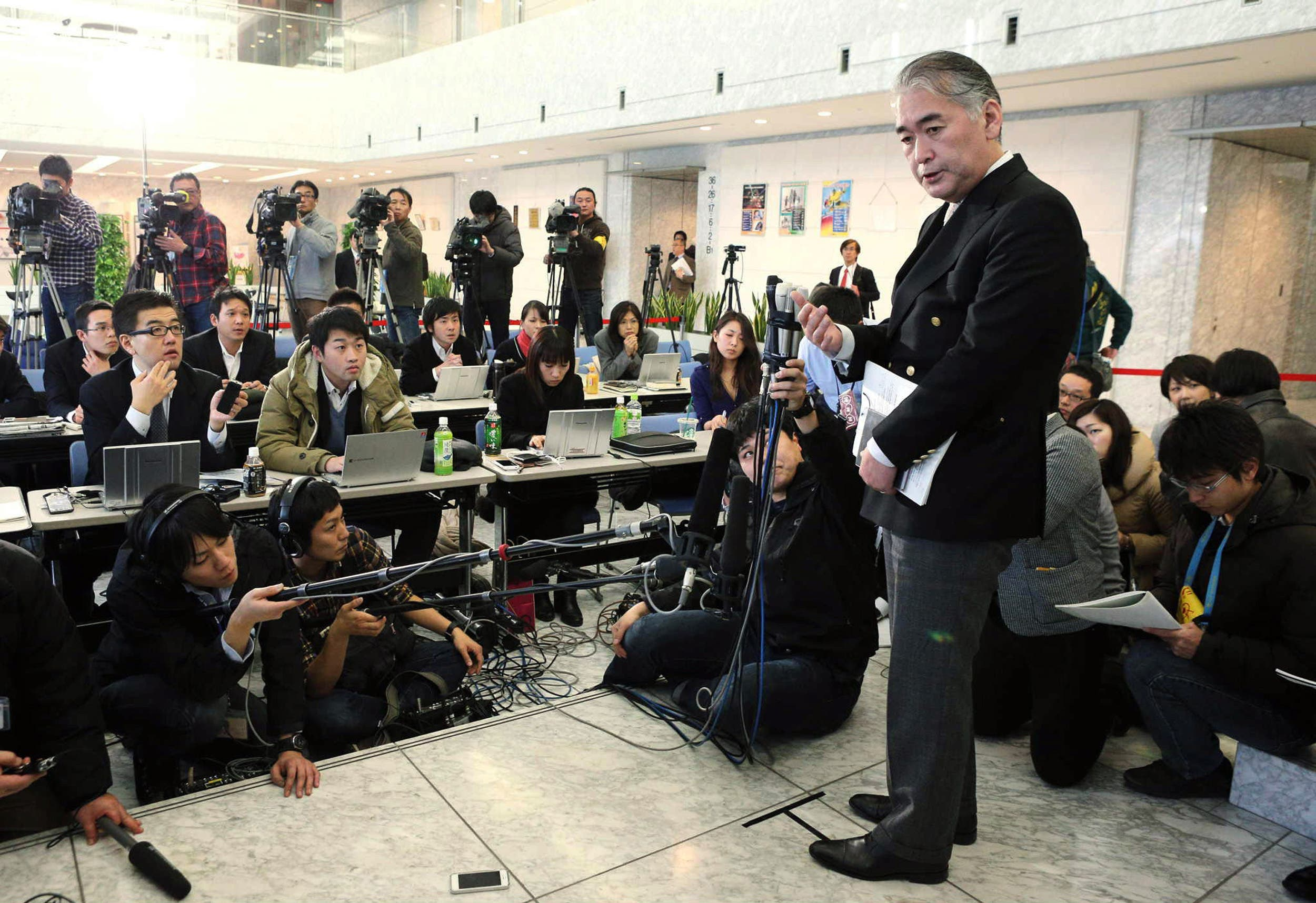 At least three Japanese were among the 41 foreigners kidnapped by heavily armed Islamist gunmen attacked a gas complex in Algeria. (AFP Photo/Jiji Press)