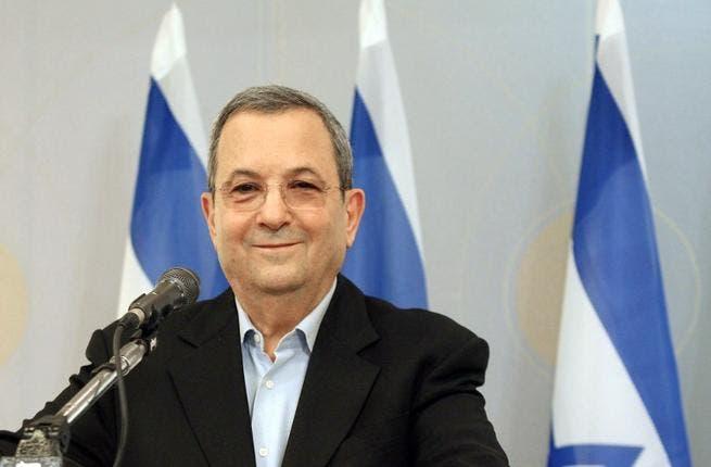 Outgoing Israeli Defense Minister, Ehud Barak.