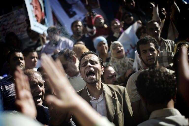 Egyptians say they're fed up with taking to the streets.