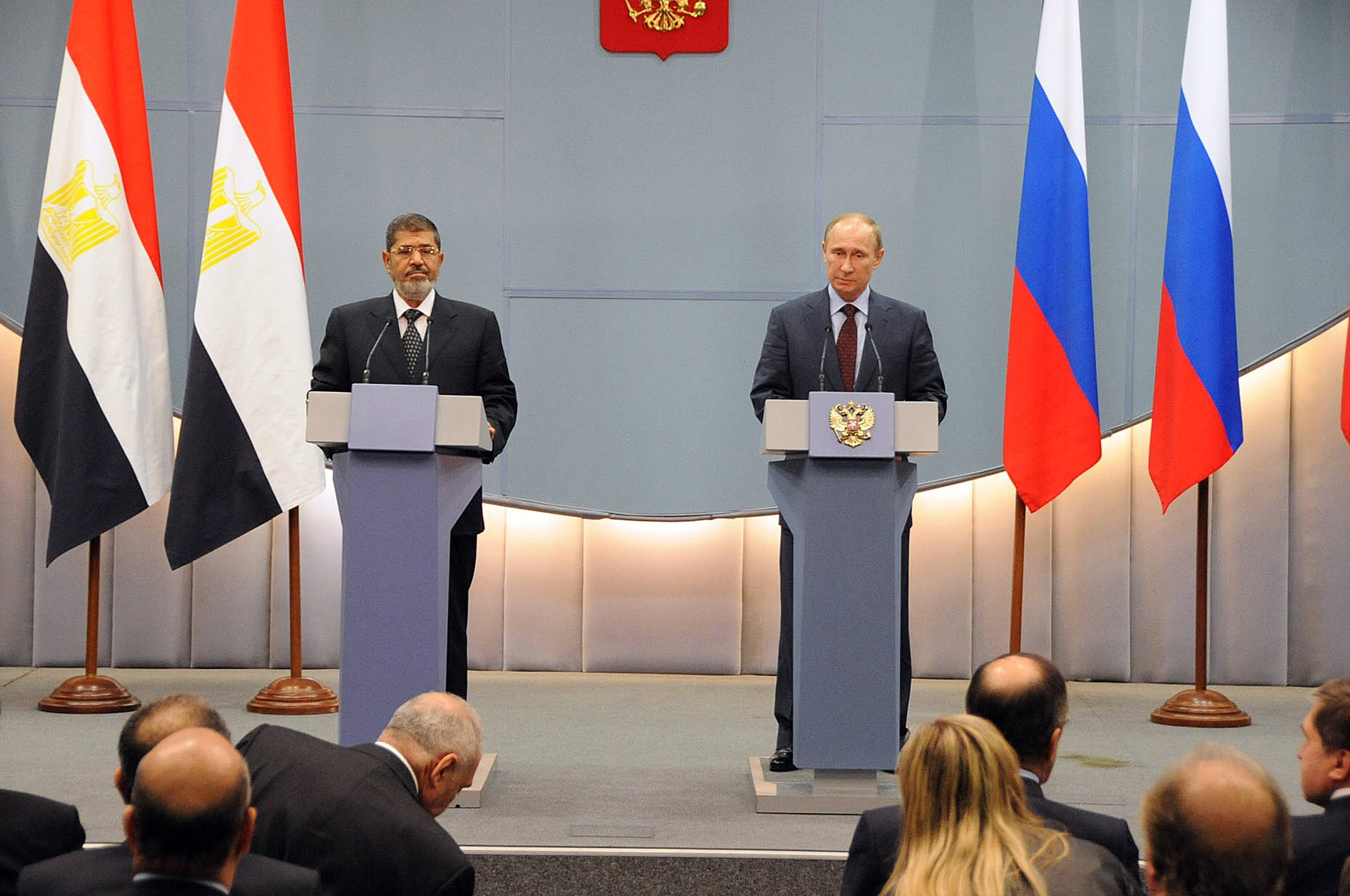 Russia is yet to decide whether it will offer Egypt a $2 billion loan (AFP PHOTO / HO / EGYPTIAN PRESIDENCY PRESS OFFICE)