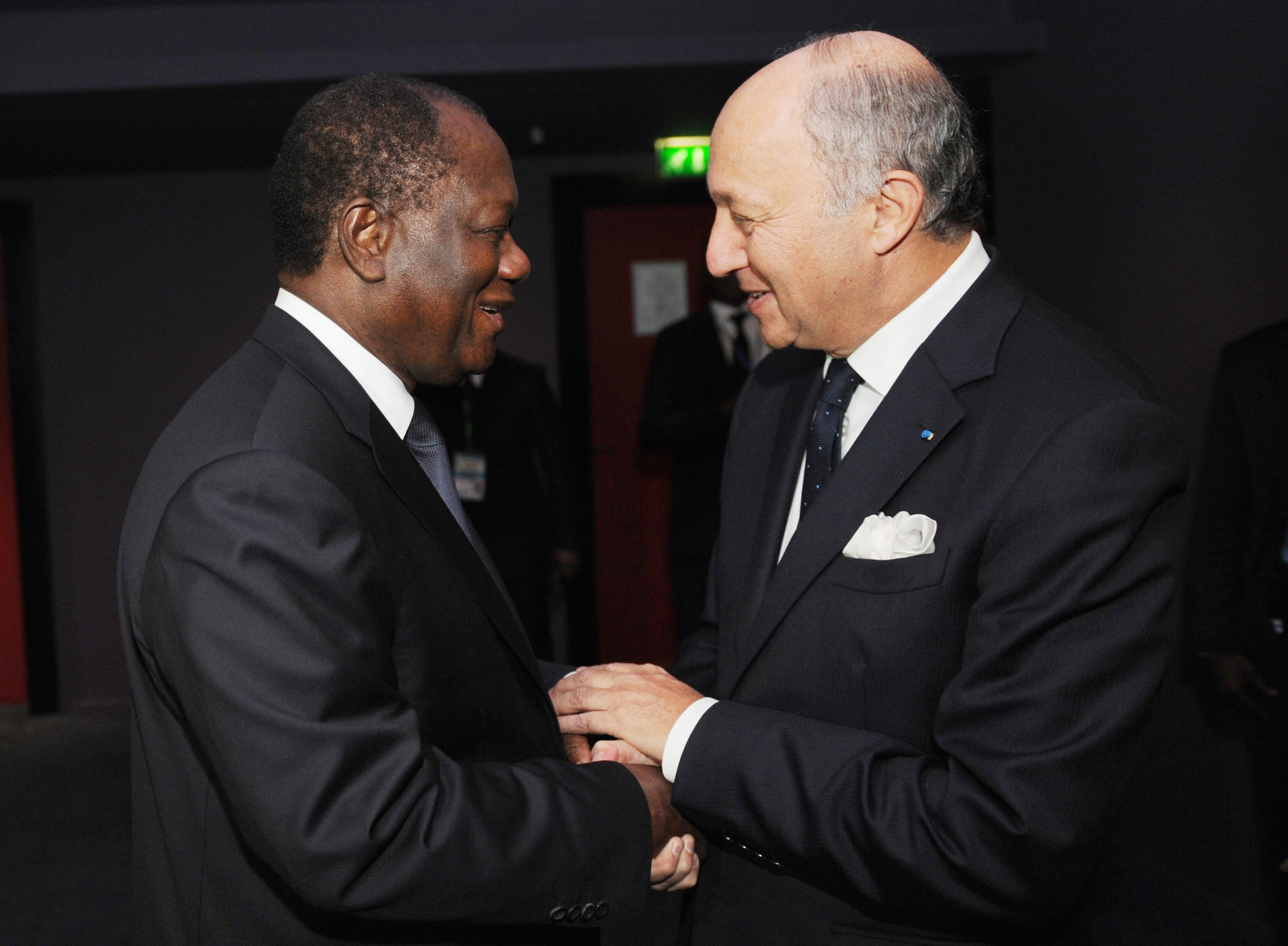 African leaders are meeting to discuss speedy deployment of troops to Mali. (Sia Kambou/AFP)