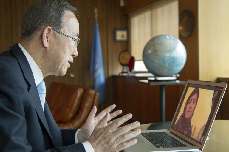 UN Chief Ban Ki Moon has called for the chemical weapons inspectors to be sent in to Syria.
