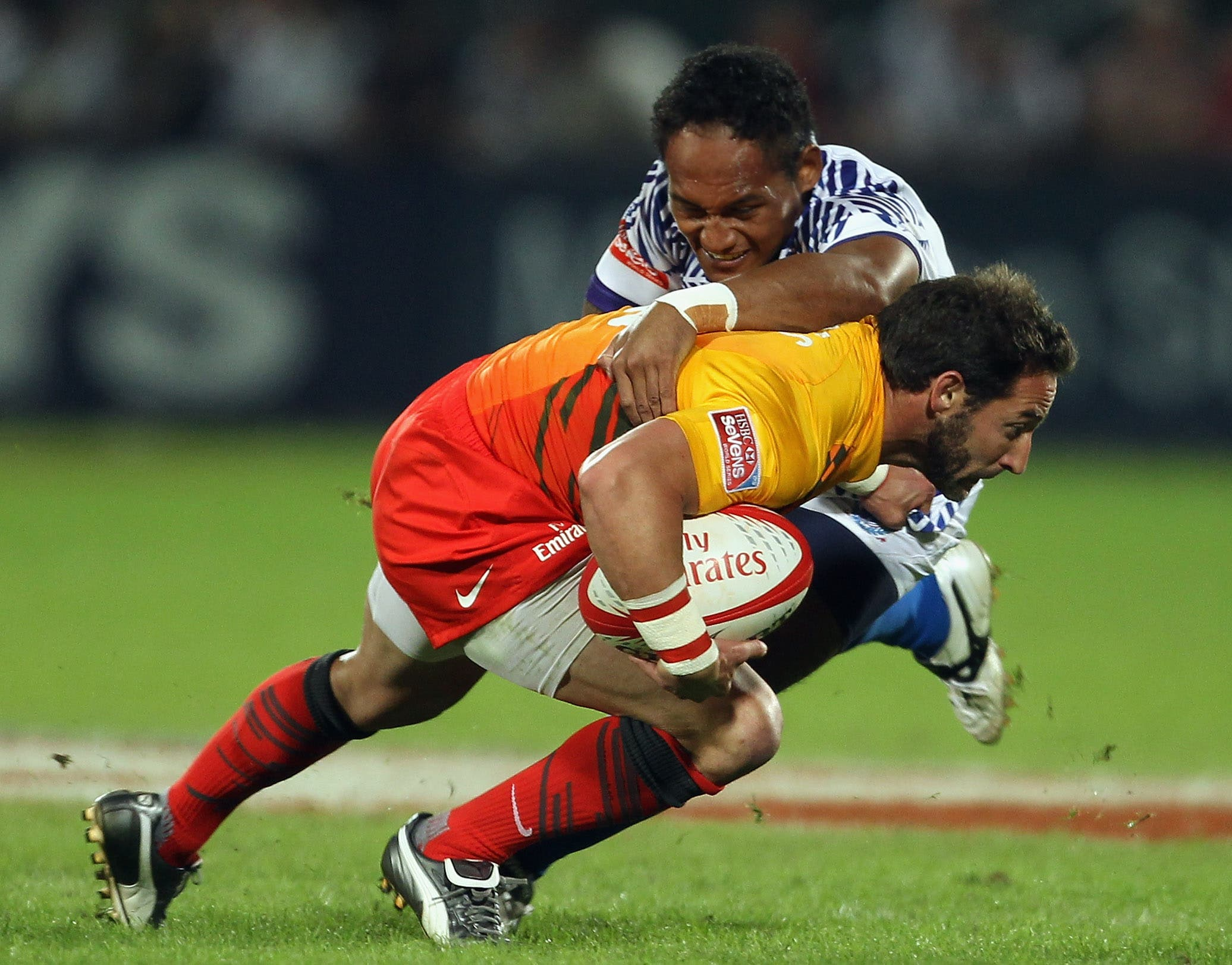 Rugby has always been considered a game for the gentleman and the sportsman, though it doesn't always look that way.