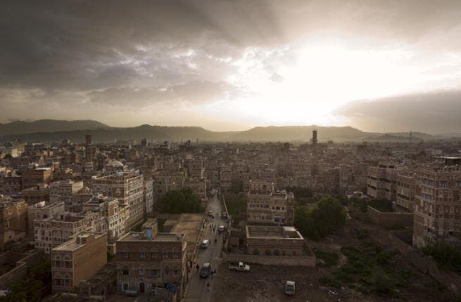 The view over Yemen's capital, Sanaa.