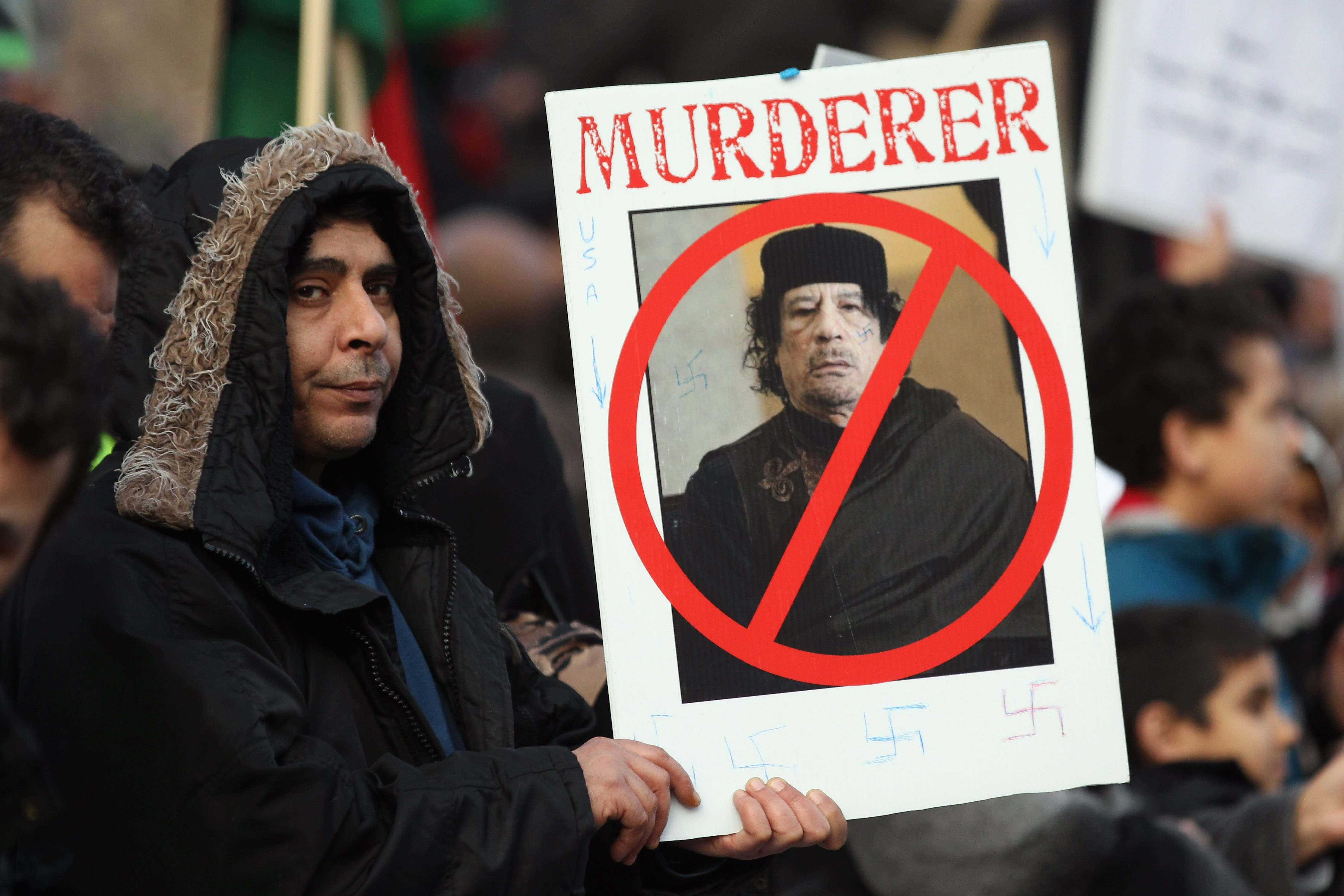 Gaddafi's has history of using of state-sponsored murder: including in the 80s in Italy.