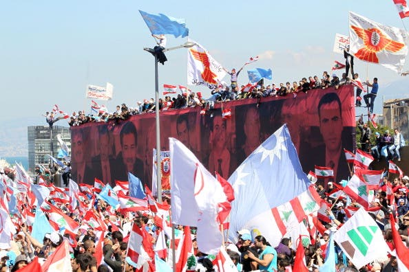March 14 heralds more protests for Lebanon as this one of March 13 ahead of the main affair.
