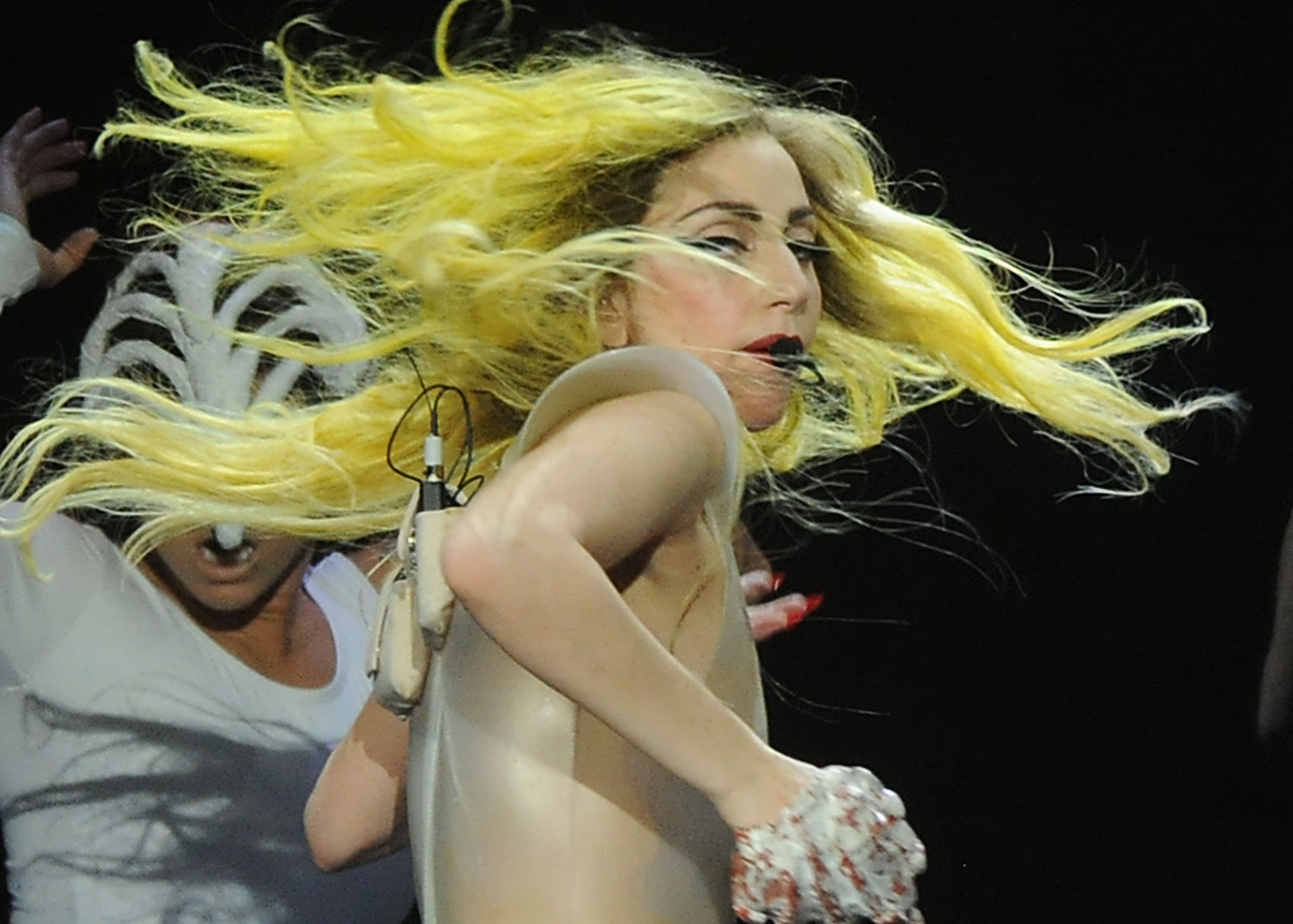 Lady Gaga usually played on autoplay on the Lebanon airwaves banned with her Judas controversial hit.