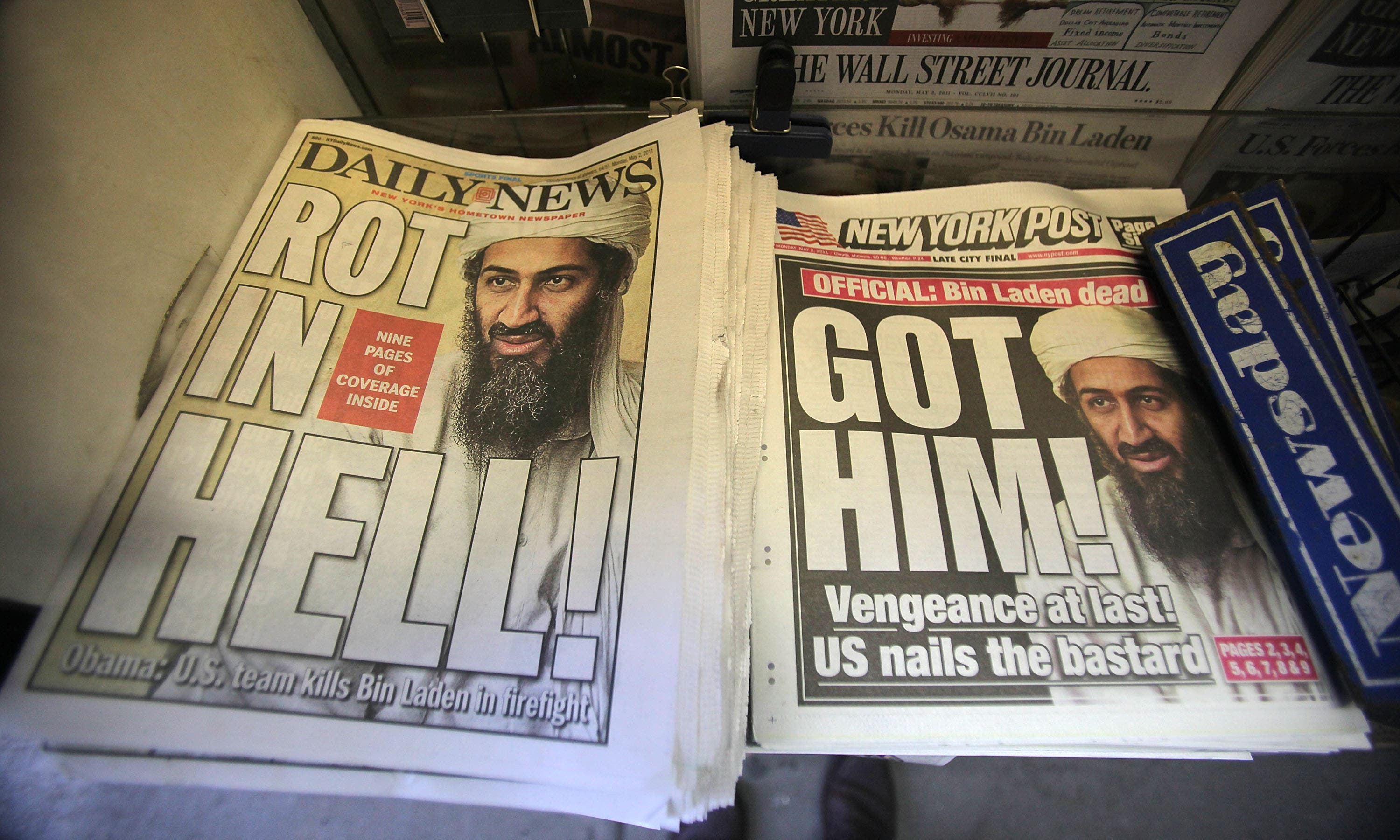 Obituaries for Osama bin-Laden have been ready to go for over a decade now.