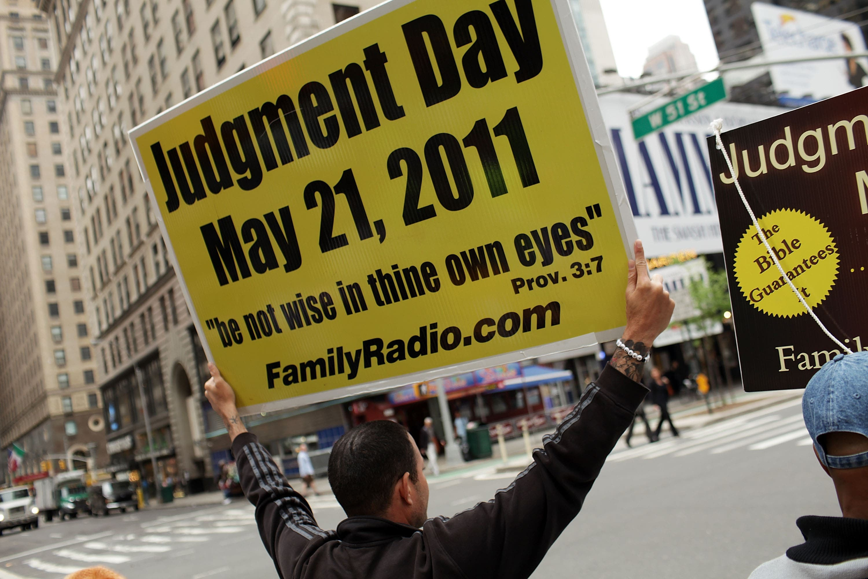 All other Judgement Day prophecies, such as 2012 have been flung out of the window as the time is upon us, today May 21st.