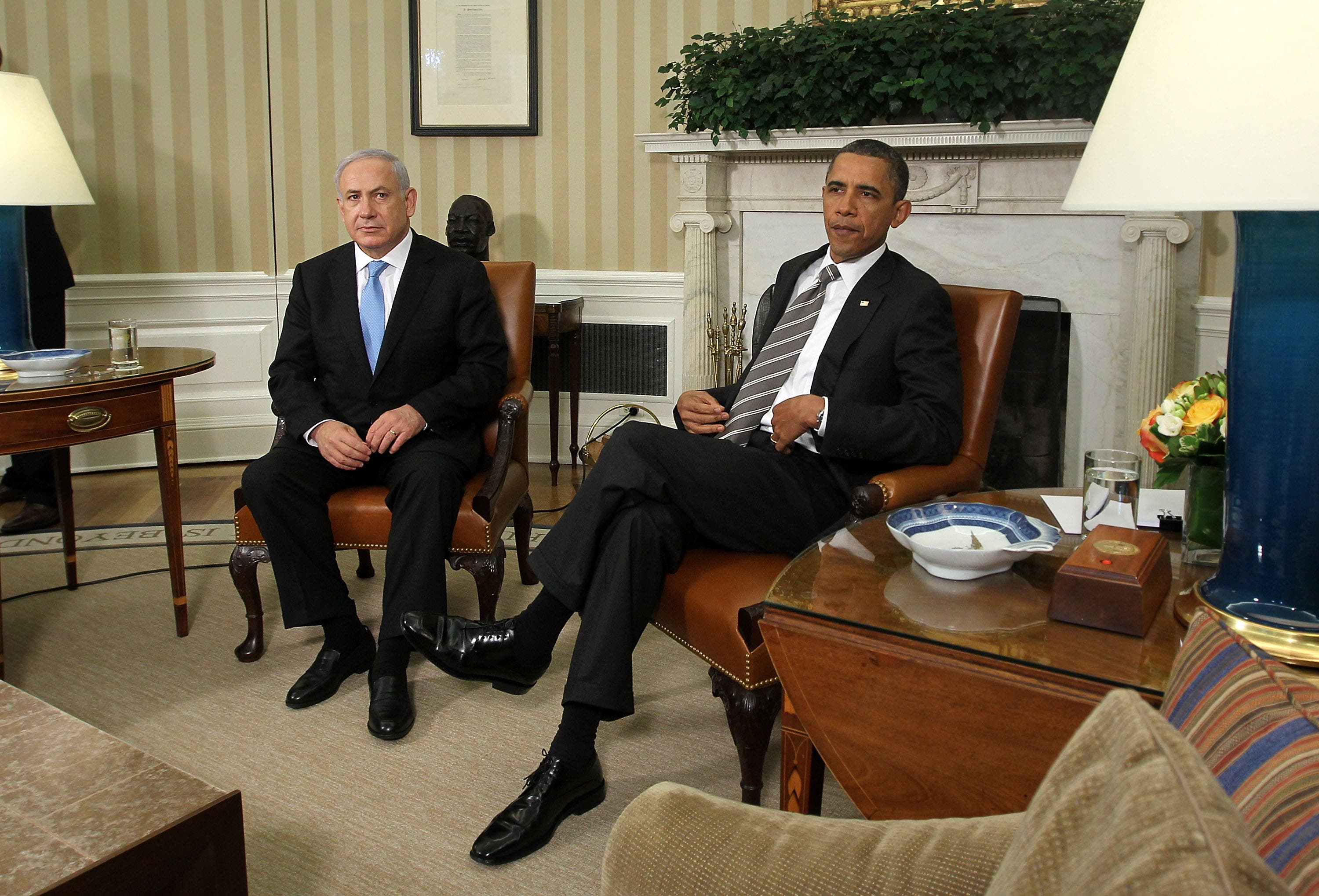 Obama's hospitality in the White House living room was spent on a disagreeable and petulant guest PM Netanyahu