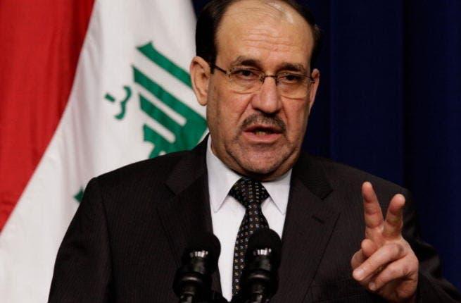 Iraqi prime minister, Nouri al-Maliki