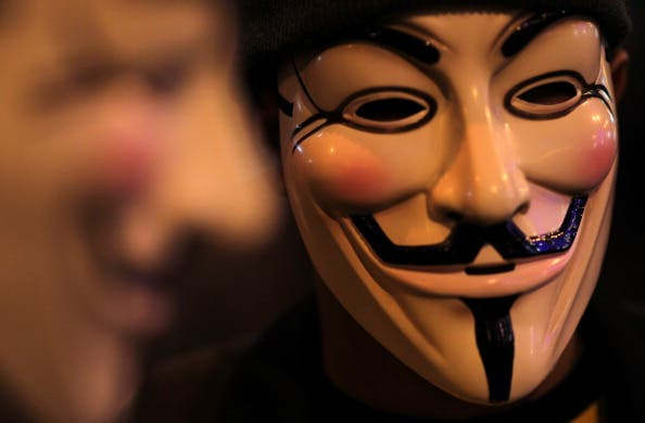 Guy Fawkes masks remain a strong symbol of revolt against the established order throughout the world.