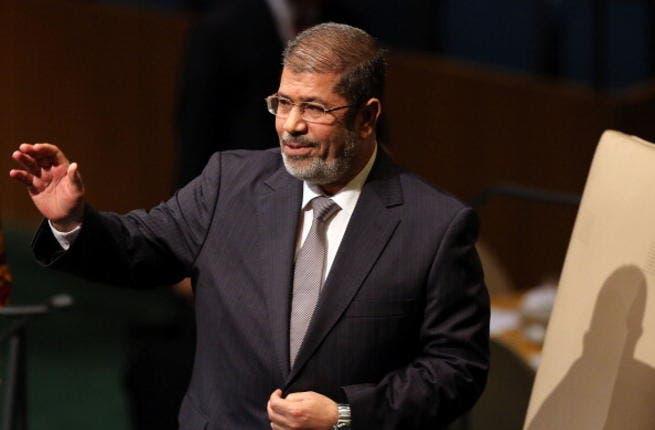 Egyptian president, Mohamed Morsi.