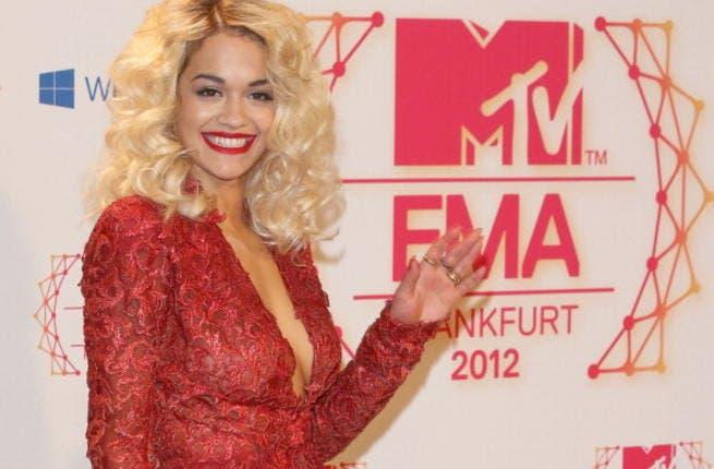 Rita Ora in Frankfurt for the MTV EMAs.