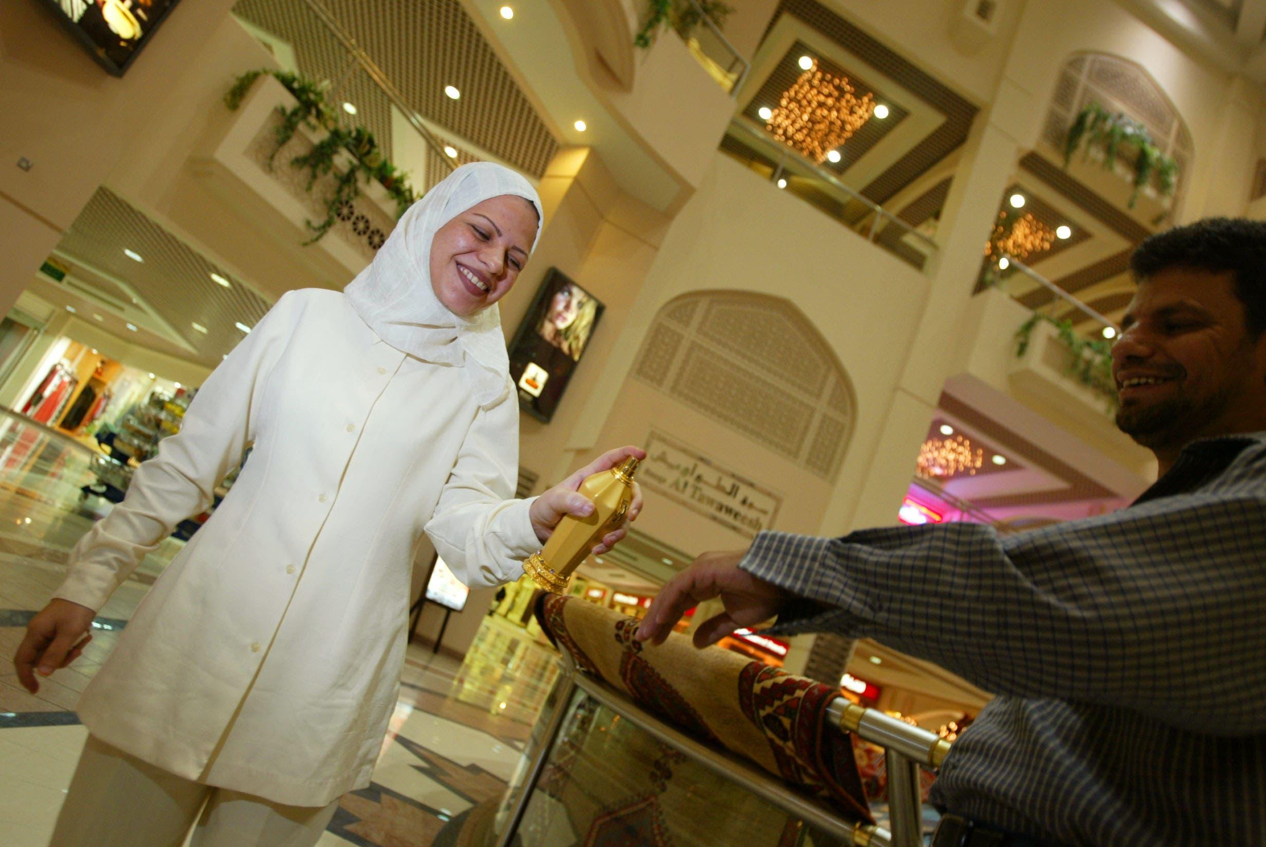 NY inspired scent debuts in Dubai with Emirati Abaya fashion designer at Lafayette Galleries in Dubai Mall