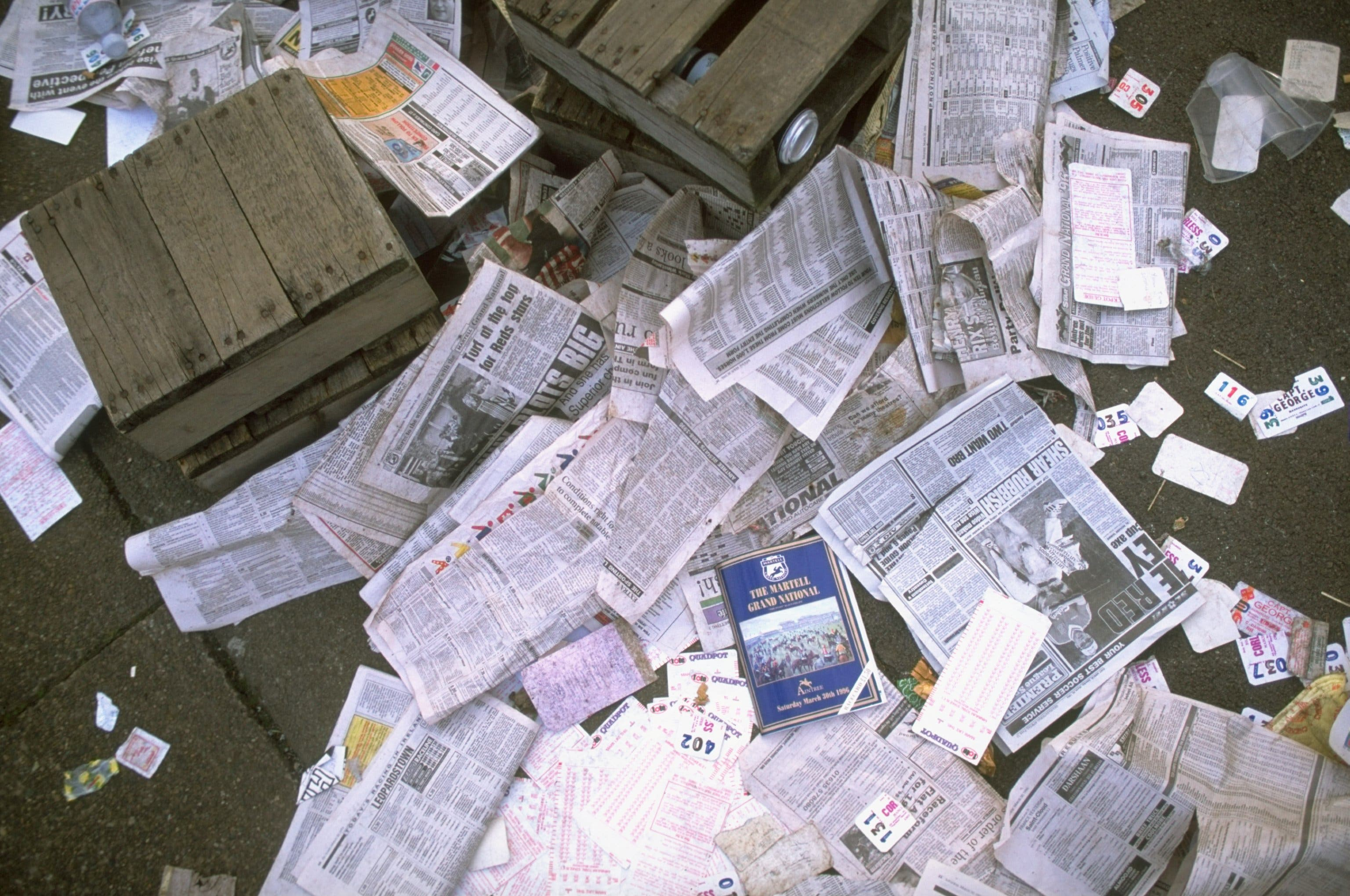 Newspapers in Egypt were tested and stretched by the People's Story.