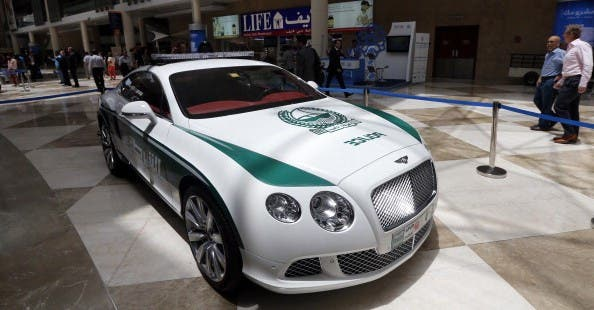 Not content with a Ferrari FF or Lamborghini Aventador, Dubai Police now use a rare Aston Martin One-77.