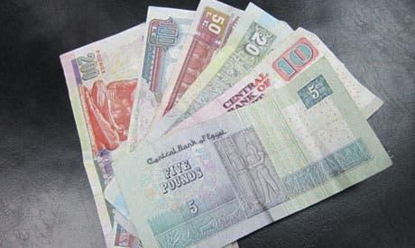 Mixed Egyptian pound bills