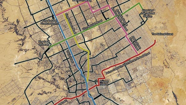 The proposed metro project in Riyadh is hoped to raise standards of living and support long-term, sustainable development in the capital (Courtesy of Arriyadh Development Authority)