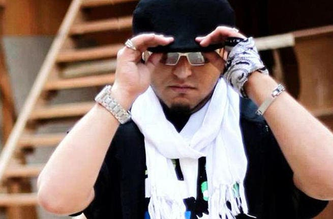 Syrian rapper Murder Eyez. (Image: Facebook)