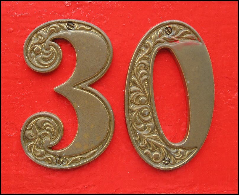 30's the new 20's? But wiser: the big 3-0