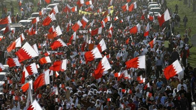 Saudi Arabia's intervention in Bahrain to suppress the Shiite majority opposition uprising in 2011 sparked other protests in KSA's Eastern Province in response (File Archive)