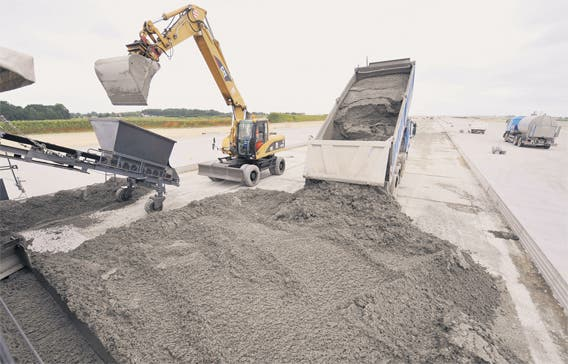 Construction boom putting high pressure on cement demand