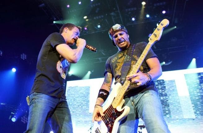 3 Doors Down are set to play in Dubai next year (Photo: Facebook)