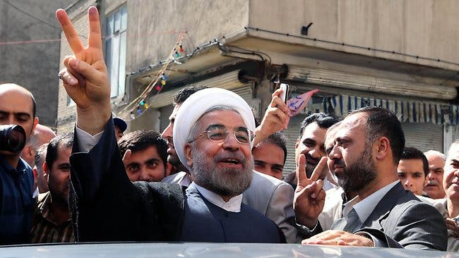 """Newly elected Iranian President Hassan Rowhani praised his election as a """"victory of moderation over extremism,"""" and urged world powers to speak to his country with respect and acknowledge its rights in order to receive an appropriate response."""